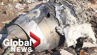 Dozens of Canadians killed in plane crash near Tehran