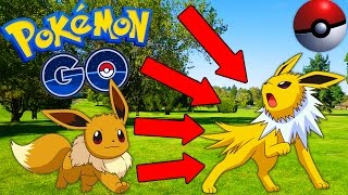 POKEMON GO LETS PLAY! Episode 2 - BIKE ADVENTURE! EEVEE EVOLUTION! EVOLVING POKEMON!