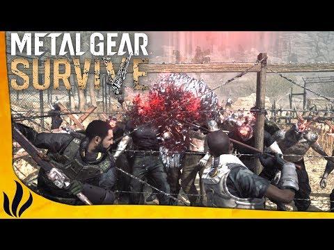 NOUVEAUX ZOMBIES, NOUVEAU STUFF ! ON TIENT À 4 ! (Metal Gear Survive)