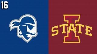 2019 College Basketball #16 Seton Hall vs Iowa State Highlights