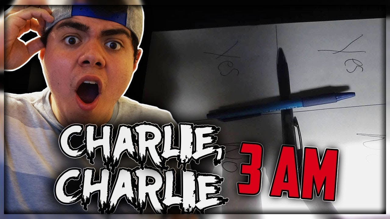 Download CHARLIE CHARLIE CHALLENGE AT 3AM?!   I CAN'T BELIEVE WE DID THIS!   CHARLIE CHARLIE PART ONE (TAP)