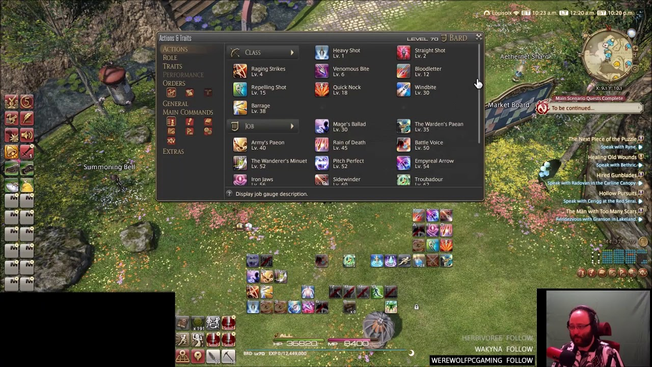 FOLLOWUP to FFXIV ACT - Special Spell Timers Guide