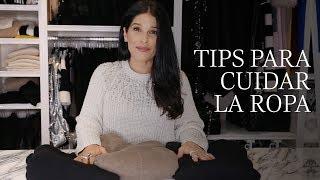 Tips para cuidar la ropa  Martha Debayle