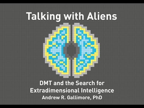 Andrew Gallimore - Talking with Aliens: DMT and the Search f