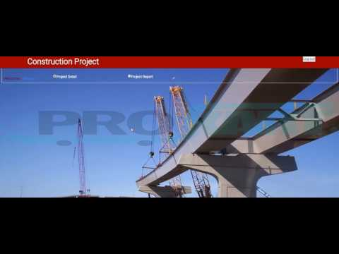 Construction Project Management System Functional - .NET