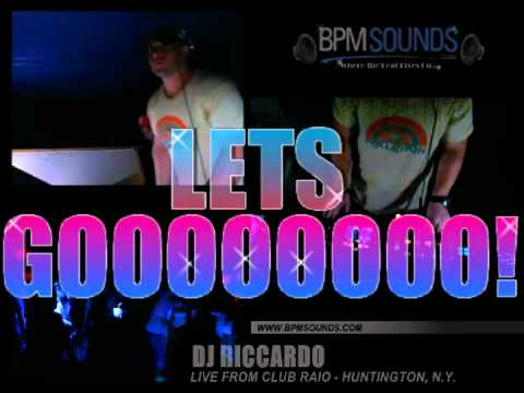 BPMSounds presents DJ Ricardo LIVE from Club Radio NY
