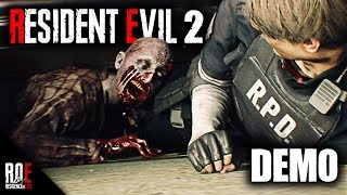 RESIDENT EVIL 2: REMAKE || GAMEPLAY DEMO