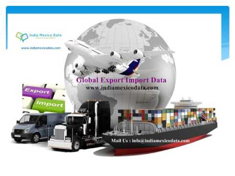 Import Export Data, Exporter Importers shipping data from Custom