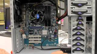 Build A PC Part 9   Install the Hard drive