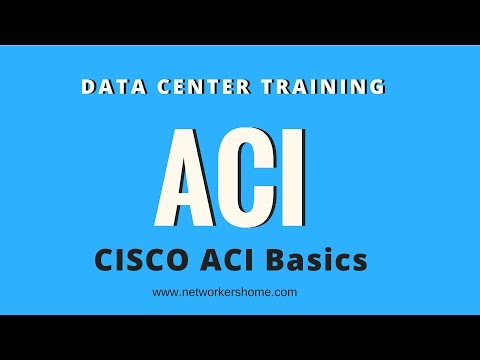 CCIE Datacenter Training - Cisco ACI Basics from Networkers Home. CCIE Playlist and videos on ACI.