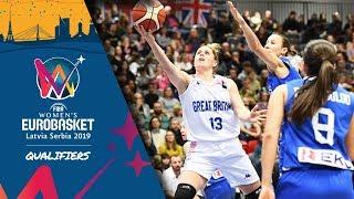 Great Britain v Greece - Full Game - FIBA Women's EuroBasket 2019 - Qualifiers 2019
