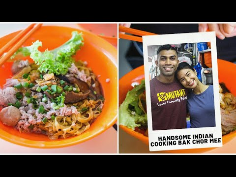 Li Na Fishball Noodles – Young, Handsome Hawker Serves Up Delicious Fishball Noodles!
