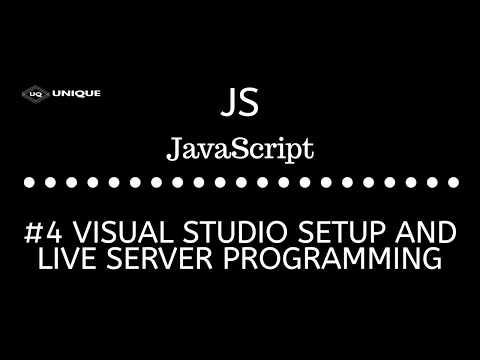 Javascript Tutorials #4 || Vs code Theme  & Live server Plugin Setup thumbnail