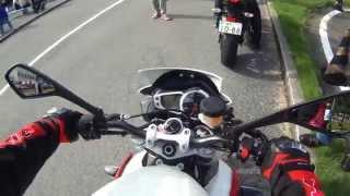 STREET TRIPLE R試乗動画