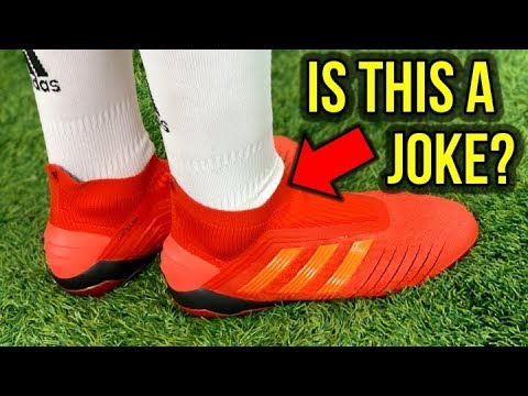 watch ef5f6 cca5d ADIDAS PREDATOR 19+ LACELESS (INITIATOR PACK) REVIEW + ON FEET