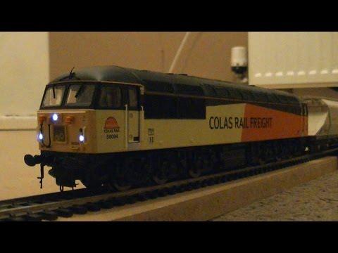 Hornby R3291XS Class 56 DCC Sound Diesel Locomotive 56094 Colas Rail (OO Gauge) Review HD