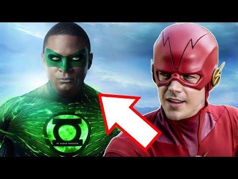 The Flash & Green Lantern Origins! Deleted Arrow Storylines! - Arrow Season 7