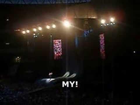 "George Michael @ Wembley Stadium: ""Kiss My Hairy Greek Arse"""
