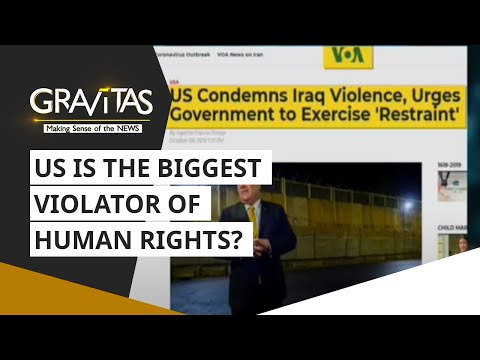 Gravitas: The United States | The biggest violator of human rights?