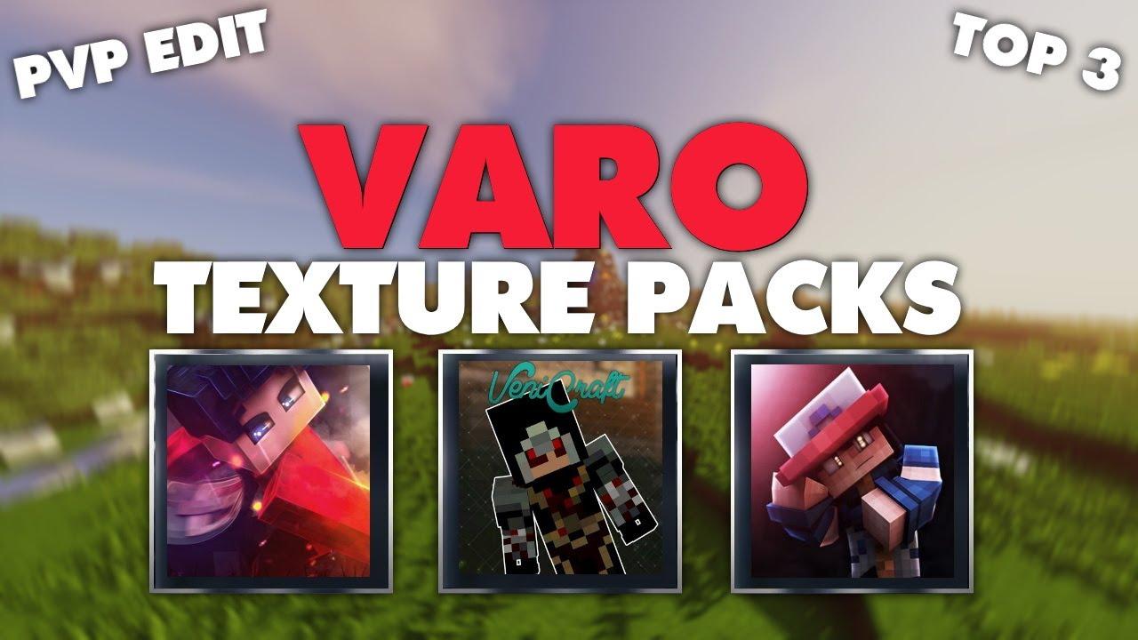 TOP 3 VARO TEXTURE PACKS 1.15 / 1.14 & DOWNLOAD LINK! (Fazon, BastiGHG, VeniCraft)