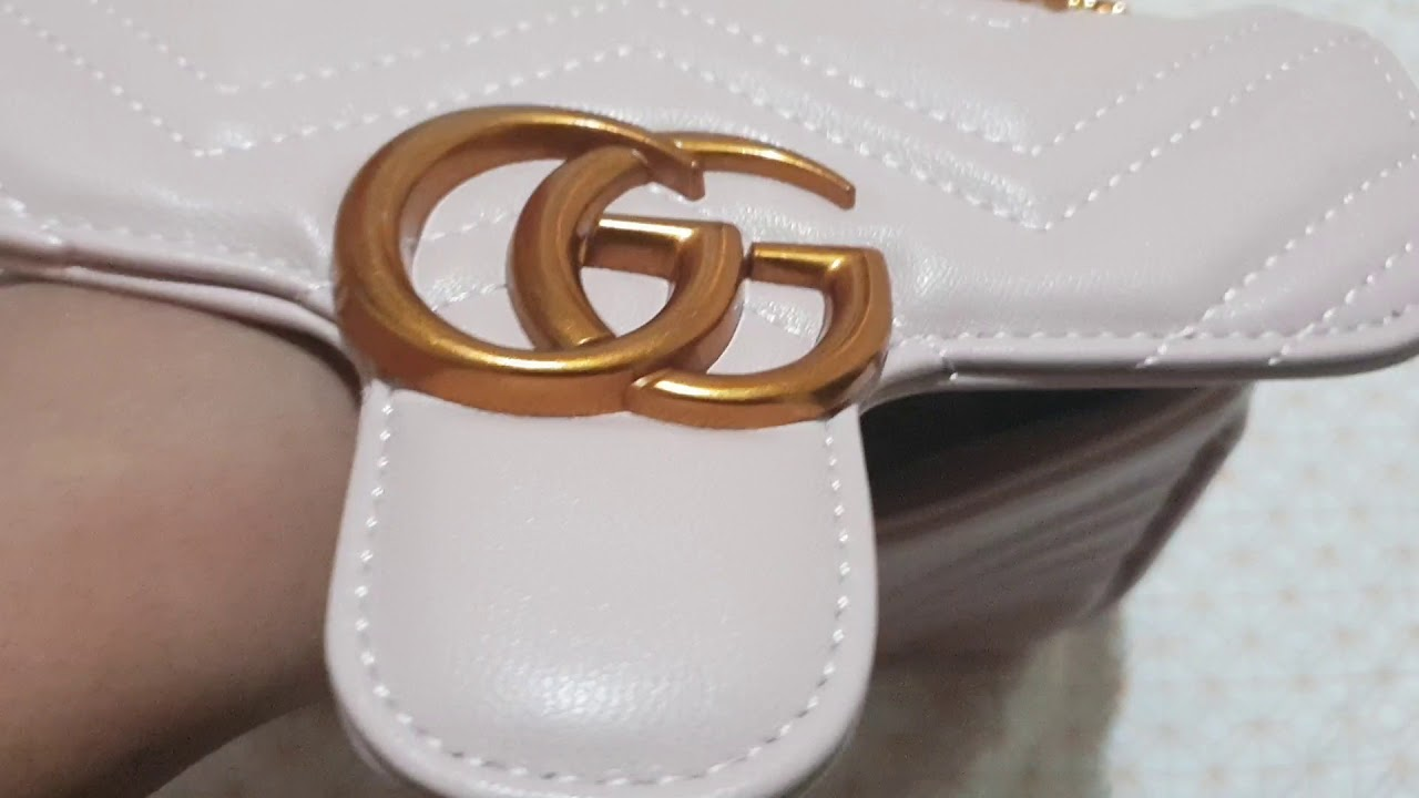 b8bd314a4f2687 Gucci Marmont Replica Review - YouTube