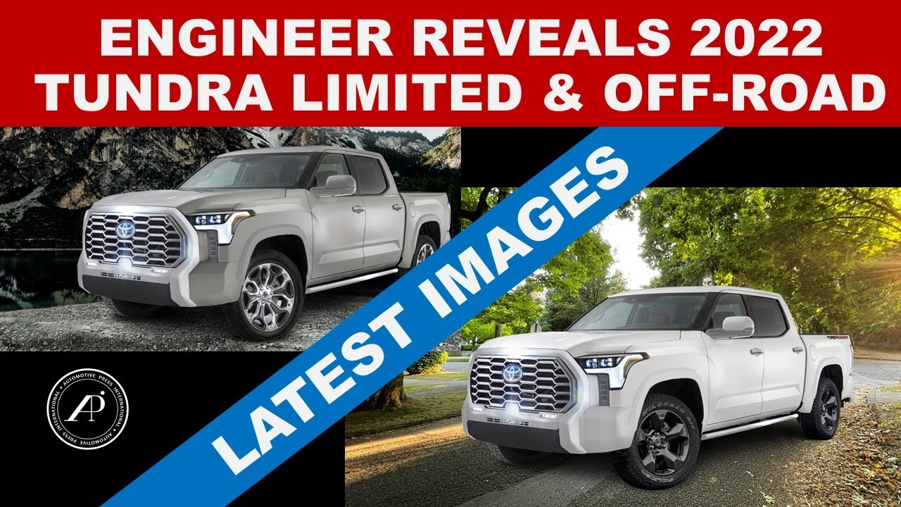 2022 TOYOTA TUNDRA LIMITED & OFF-ROAD REVEALED FOR THE FIRST TIME BY ENGINEER! - Most Accurate Image