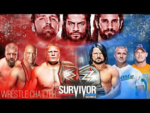 WWE Survivor Series 2017 Match Cards Predictions Of Team Smackdown Live Vs Team Raw Final Member