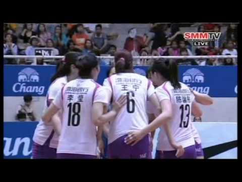 Hisamitsu Spring(JPN) - Bohai Bank Tianjin(CHN) (Final) AVC Women's Club 25-04-2014