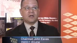 Chairman John Eaves Talks about KONGO across the WATERS Art Exhibition