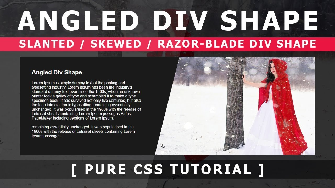 Css div hover effect tutorial html5 css3 hover effect youtube.