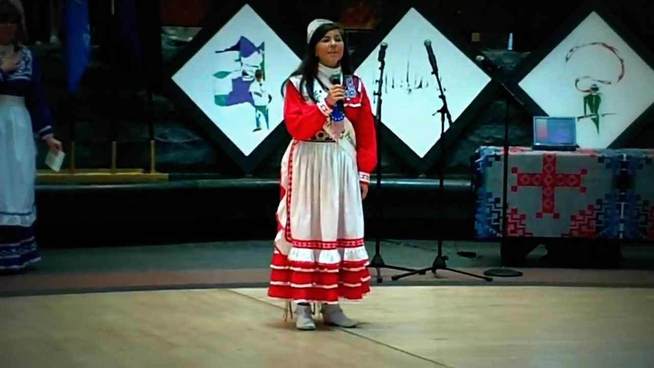 NATIONAL ANTHEM-STAR SPANGLE BANNER SUNG IN CHOCTAW LANGUAGE by choctaw4233