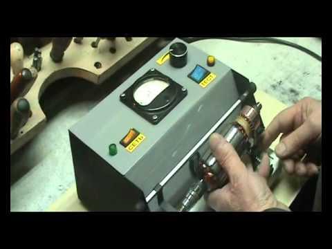 Прибор для поверки якорей двигателей и генераторов э236. Разное. Паспорт на прибор для проверки якорей генераторов и стартеров.
