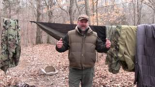 Five things to help you with winter hammock sleeping