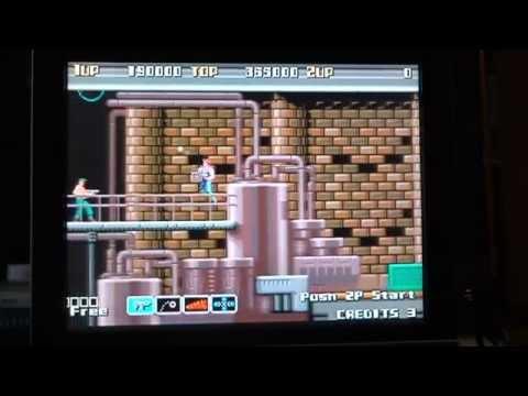 Bay Route: Arcade Full Play Through (Actual Hardware)