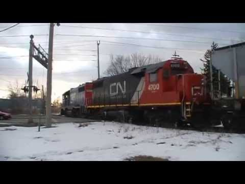 Grand Trunk Western (Freight/CN Unit), 02-24-2014