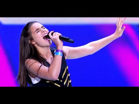 """Carly Rose Sonenclar """"Feeling Good"""" - Audition - The X Factor USA 2012"""