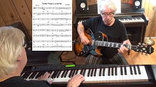 The Best Things In Life Are Free - Jazz guitar & piano cover ( Ray Henderson )