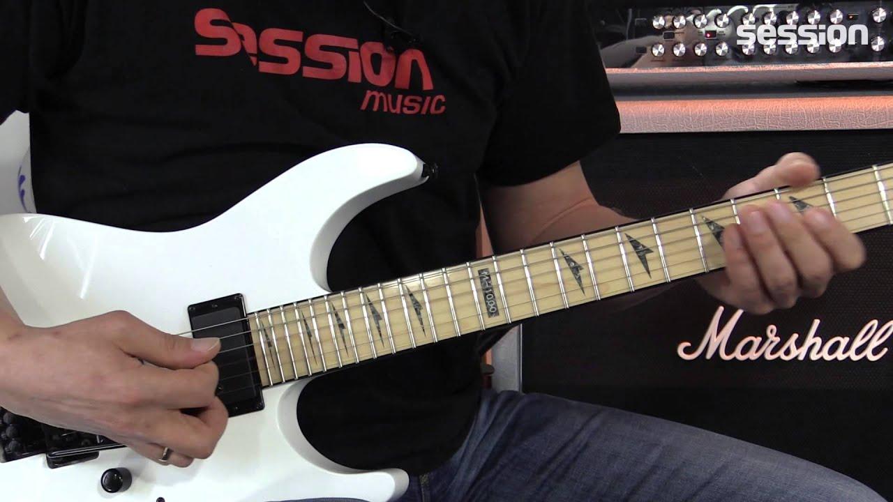 ESP LTD M-1000M SW - YouTube