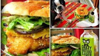 Chicken Burger With Jalapeño & Date Crazy Bastard Sauce