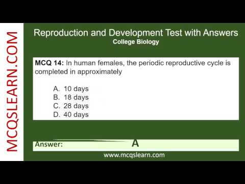 Test asexual reproduction video