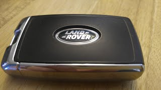 2018 - 2020 Land / Range Rover Remote Key Battery Replacement - DIY