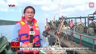 Nhức nhối tình trạng buôn lậu dầu tại vùng biển phía Nam - Tin Tức VTV24
