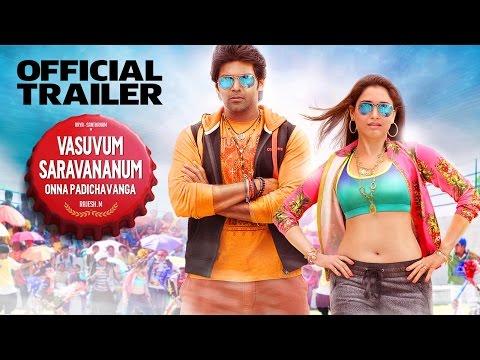 Vasuvum Saravananum Onna Padichavanga - Official Trailer | Arya, Santhanam
