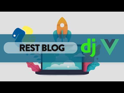 Blog con Django Rest Framework + VueJS