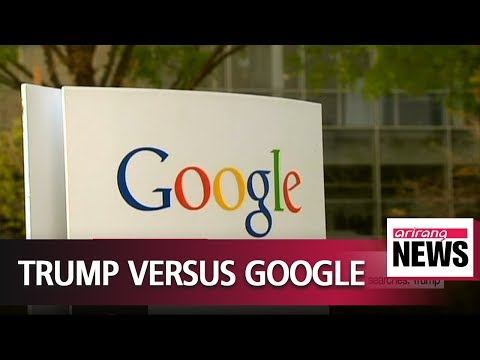 """White House to look into Google's news service over """"rigged"""" searches: Trump"""