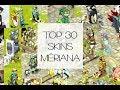 Dofus - Top 30 des Plus Beaux Skins du Serveur Mériana
