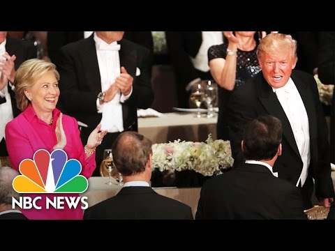 Donald Trump, Hillary Clinton Zingers From Al Smith Charity Dinner | NBC News