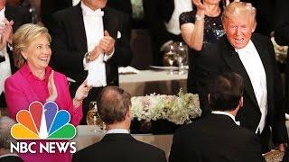 Donald Trump, Hillary Clinton Zingers From Al Smith Charity Dinner | NBC News