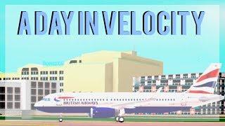 | ROBLOX | A Day In Velocity | Velocity Flight Simulator