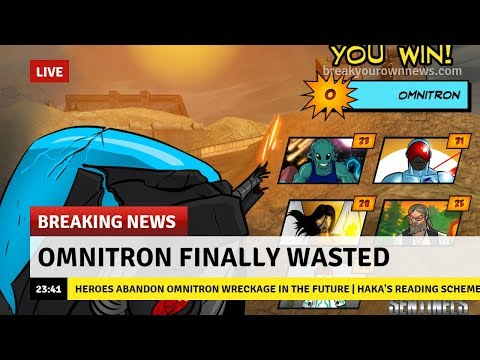 Omnitron Finally Wasted - Sentinels of the Multiverse: the Video Game |